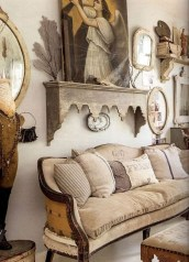 Pretty French Country Living Room Design Ideas22
