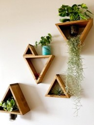 Simple Wall Plants Decorating Ideas02