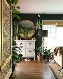 Simple Wall Plants Decorating Ideas28