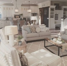 Smart Farmhouse Living Room Design Ideas12