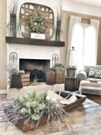 Smart Farmhouse Living Room Design Ideas20