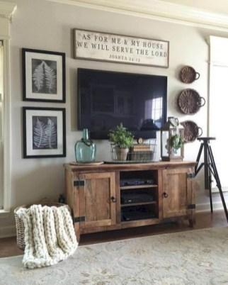 Smart Farmhouse Living Room Design Ideas42