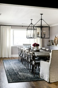 Wonderful French Country Dining Room Table Decor Ideas02