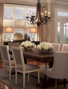 Wonderful French Country Dining Room Table Decor Ideas04
