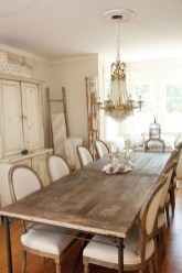 Wonderful French Country Dining Room Table Decor Ideas10