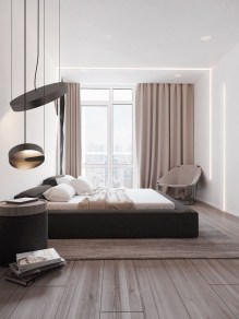 Amazing Black Bedroom Design Ideas For Home05
