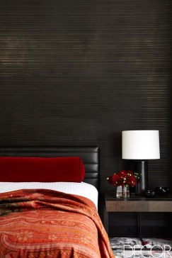 Amazing Black Bedroom Design Ideas For Home22