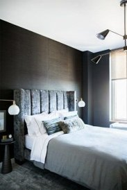 Amazing Black Bedroom Design Ideas For Home29