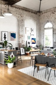 Creative Industrial Living Room Designs Ideas13