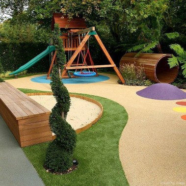 Elegant Play Garden Design Ideas For Kids40