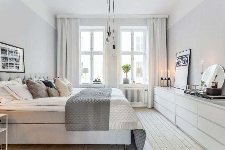 Excellent Scandinavian Bedroom Interior Design Ideas36