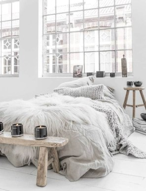 Excellent Scandinavian Bedroom Interior Design Ideas45