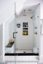 Fascinating Small Attic Bathroom Design Ideas23