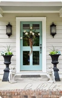 Perfect Painted Exterior Door Ideas04