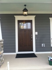 Perfect Painted Exterior Door Ideas12