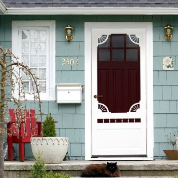 Perfect Painted Exterior Door Ideas17