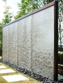 Stylish Outdoor Water Walls Ideas For Backyard25