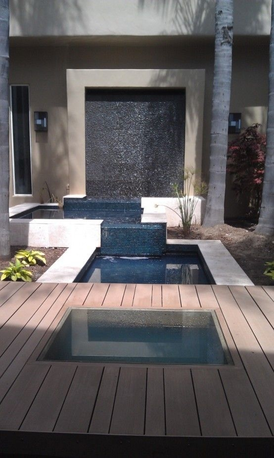 Stylish Outdoor Water Walls Ideas For Backyard33
