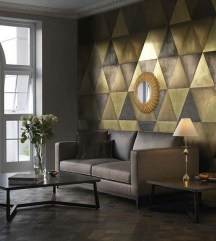 Unique Wall Tiles Design Ideas For Living Room02