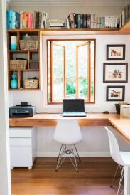 Vintage Home Office Design Ideas13