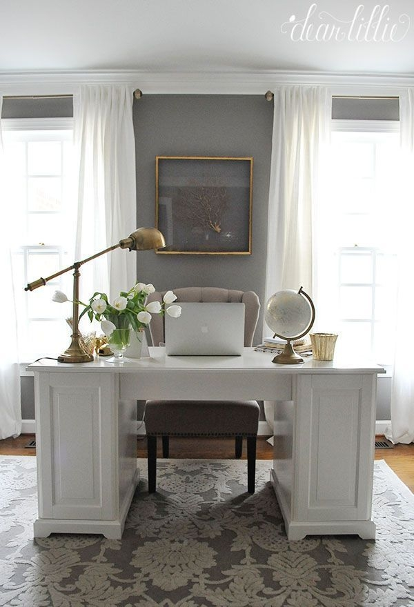 Vintage Home Office Design Ideas25