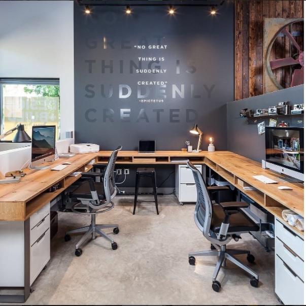 Vintage Home Office Design Ideas49