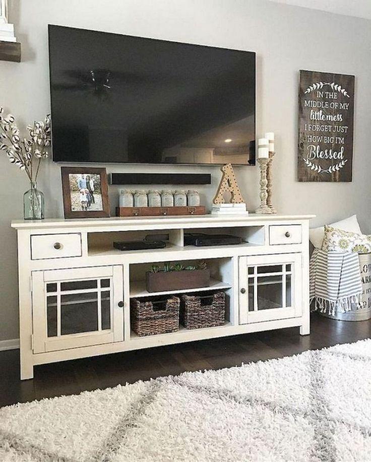 Beautiful Farmhouse Living Room Decor Ideas10