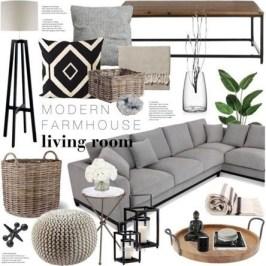 Beautiful Farmhouse Living Room Decor Ideas33