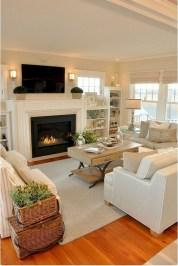 Beautiful Farmhouse Living Room Decor Ideas35