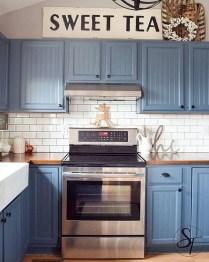 Cool Farmhouse Kitchen Color Design Ideas28