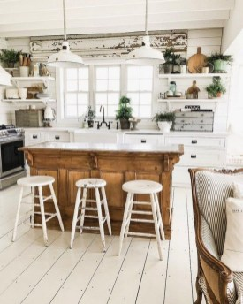 Cool Farmhouse Kitchen Color Design Ideas33