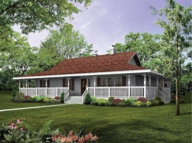 Creative Farmhouse House Plans Ideas With Wrap Around Porch18