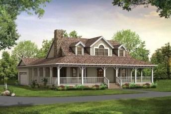 Creative Farmhouse House Plans Ideas With Wrap Around Porch26