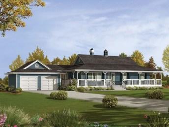 Creative Farmhouse House Plans Ideas With Wrap Around Porch27