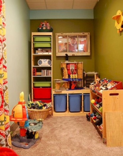 Creative Small Playroom Ideas For Kids18