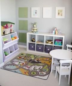 Creative Small Playroom Ideas For Kids22