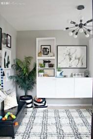 Creative Small Playroom Ideas For Kids23