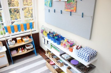 Creative Small Playroom Ideas For Kids31