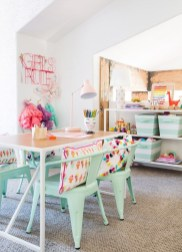 Creative Small Playroom Ideas For Kids38