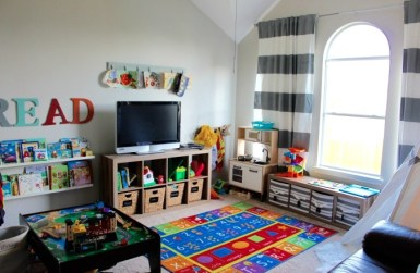 Creative Small Playroom Ideas For Kids41