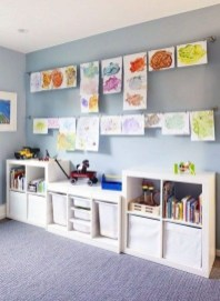Creative Small Playroom Ideas For Kids45