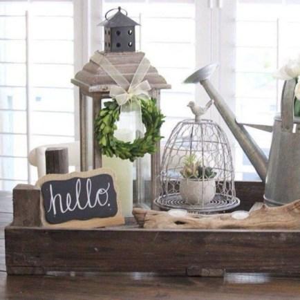 Elegant Antique Farmhouse Decoration Ideas For Home15