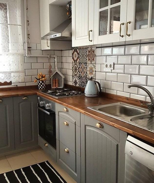 Fabulous Kitchen Decoration Design Ideas With Farmhouse Style41