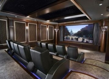 Inspiring Theater Room Design Ideas For Home06