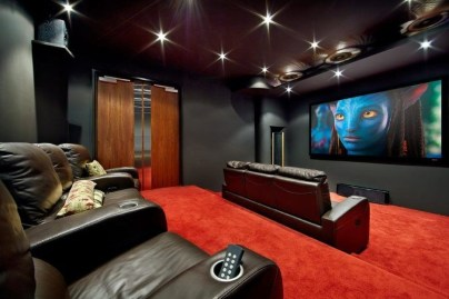 Inspiring Theater Room Design Ideas For Home11