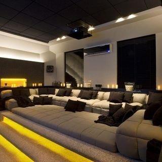 Inspiring Theater Room Design Ideas For Home12