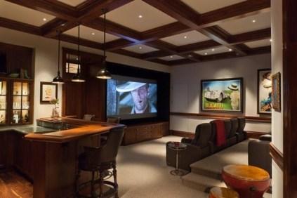 Inspiring Theater Room Design Ideas For Home18