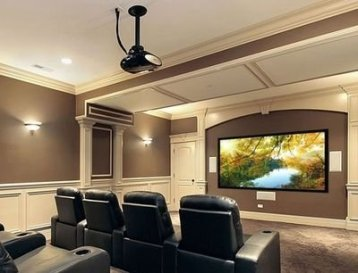 Inspiring Theater Room Design Ideas For Home39