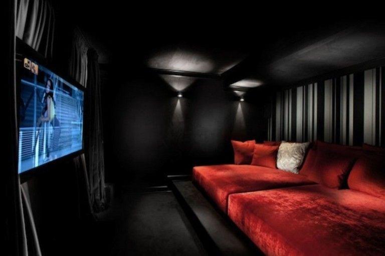 Inspiring Theater Room Design Ideas For Home41
