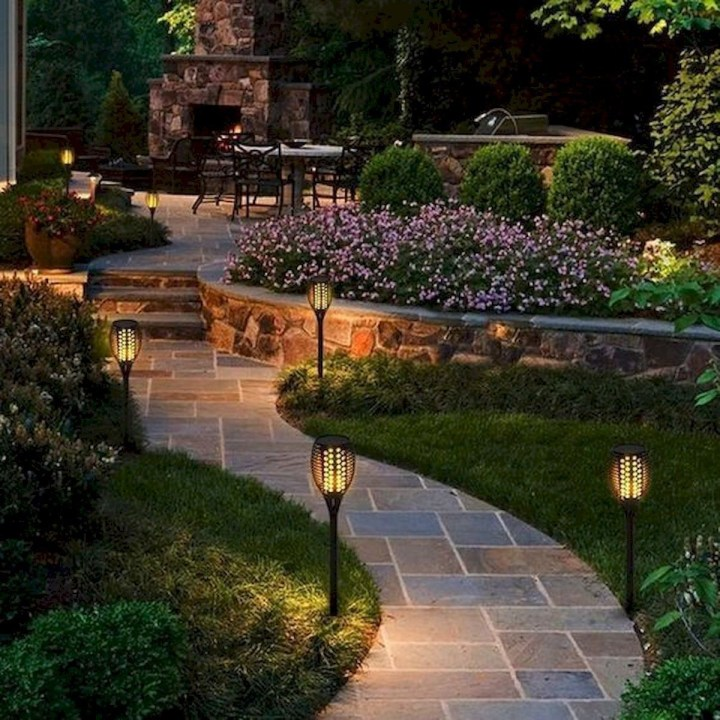 Luxury Backyard Designs Ideas36
